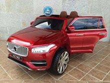 Coche electrico para niños Volvo XC90 Rojo Metalizado vista principal