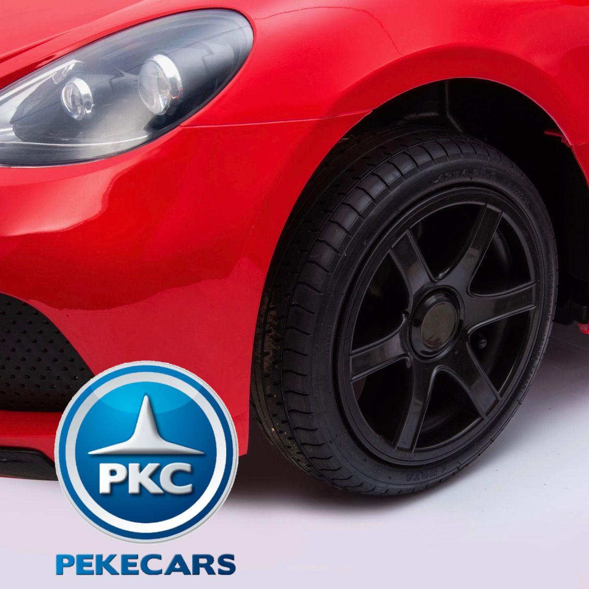 Deportivo Pekecars XL 24V Rojo - rueda del. izq.