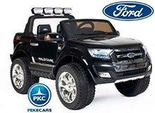 Todoterreno electrico infantil Ford Ranger MP4 Negro Metalizado vista principal