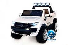 Todoterreno electrico infantil Ford Ranger MP4 Blanco vista principal