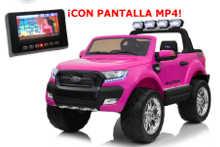 Todoterreno electrico infantil Ford Ranger MP4 Rosavista principal