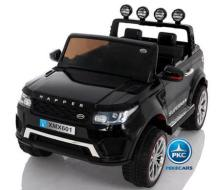 Coche electrico para niños Jeep Happer MP4 Negro vista principal