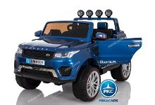 Jeep happer 12v azul metalizado pekecars