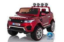 Jeep happer rojo metalizado pekecars