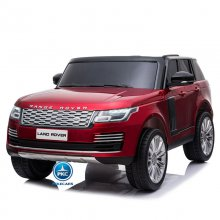 Land Rover Vogue 12V Rojo Metalizado