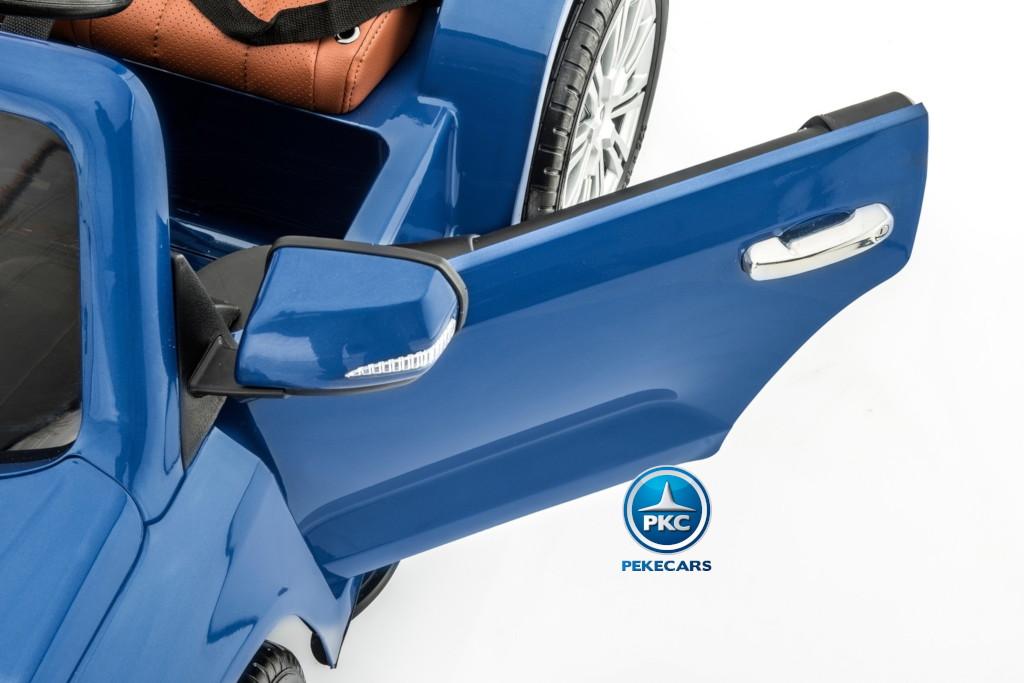 Coche electrico para niños Lexus 570 con MP4 Azul Metalizado