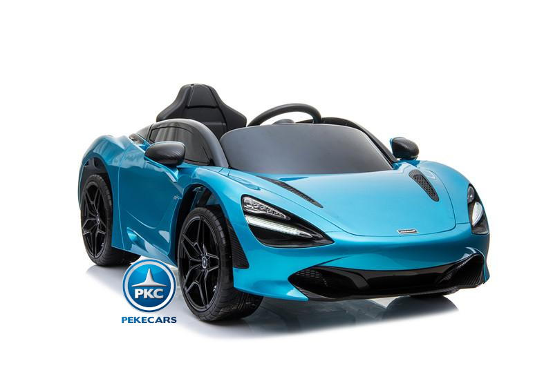 Mercedes McLaren para niños 720S 12V con MP4 Azul Pintado