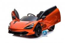 Mercedes McLaren para niños 720S 12V con MP4 Naranja Pintado