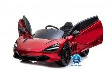 Mercedes McLaren para niños 720S 12V con MP4 Rojo Pintado