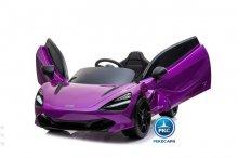 Mercedes McLaren para niños 720S 12V con MP4 Violeta Pintado