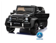 Coche electrico new mercedes G63 negro