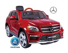 Mercedes GL63 version super luxe rojo pintado Pekecars