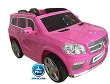 Coche electrico para niños Mercedes GL63 Rosa vista principal