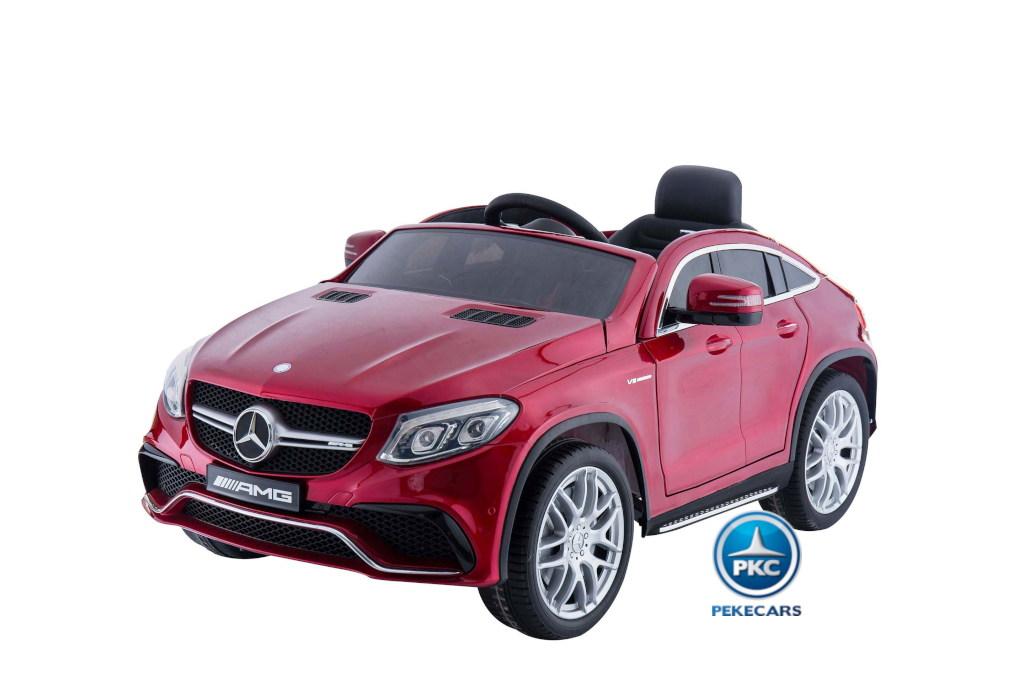 Mercedes GLE63 rojo