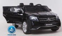Coche electrico para niños Mercedes GLS63 Negro vista principal