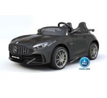 Coche electrico para niños Mercedes GTR 2 plazas Negro vista principal