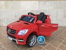 Mercedes ml350 rojo pekecars