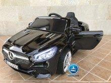 Coche electrico para niños Mercedes SL500 Negro Metalizado vista principal
