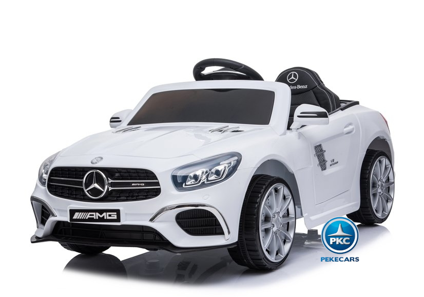 Mercedes SL63 12V Blanco