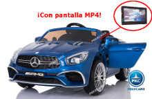 Mercedes sl65 azul metalizado pekecars con pantalla MP4