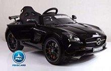 Coche electrico para niños Mercedes deportivo sls Negro vista principal