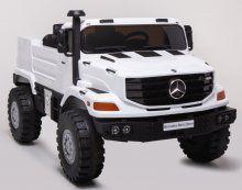 Mercedes ZETROS 12V 2.4G Blanco