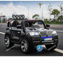 Coche electrico para niños BMW X7 Style 12V Negro vista principal
