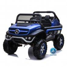 Todoterreno Mercedes Unimog Azul Metalizado