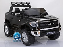 Coche electrico para niños Toyota Tundra Negro vista principal