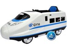 Tren electrico para niños Pekecars Blanco vista principal