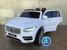 Coche electrico para niños Volvo XC90 Blanco vista principal