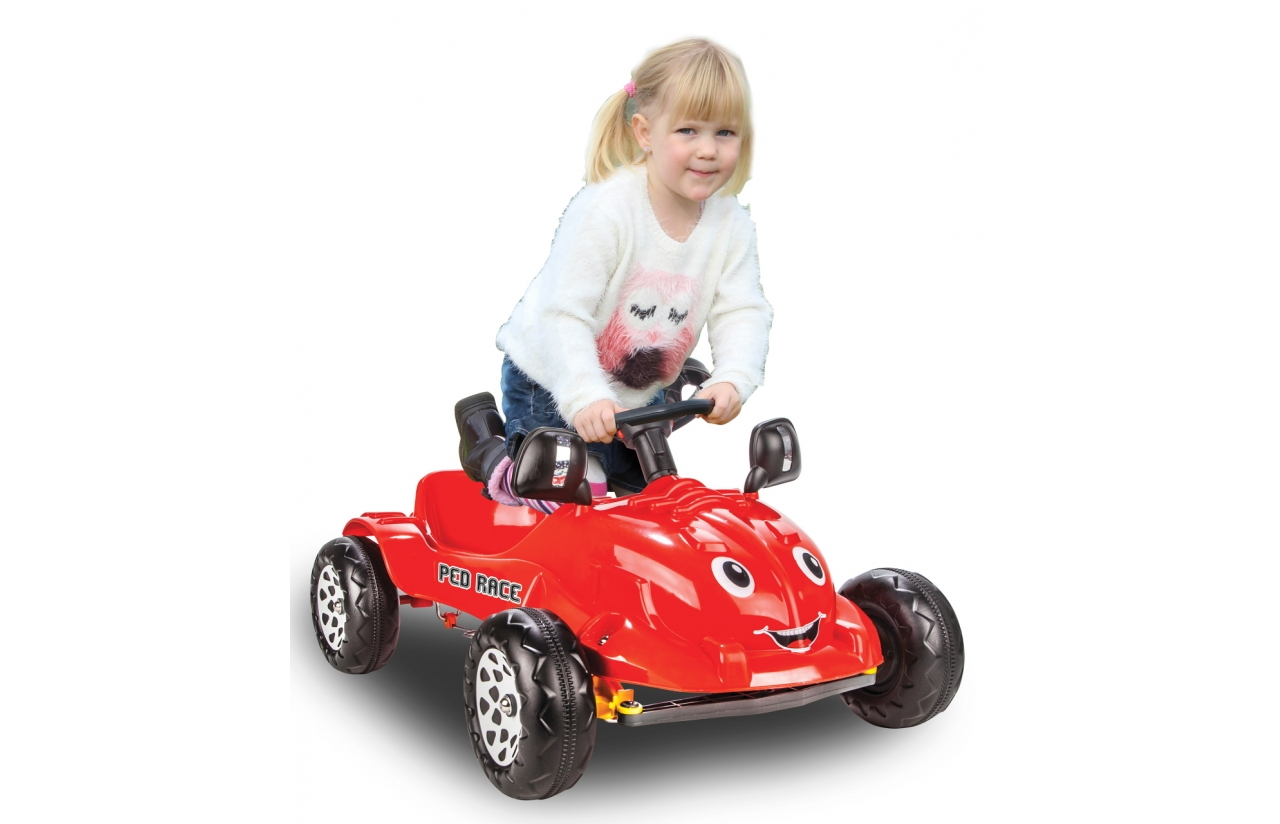 Coche de pedales Ped Race Rojo