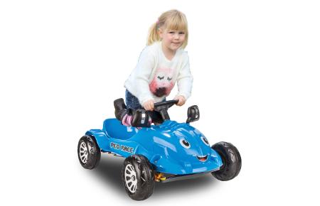 Coche de pedales Ped Race Azul