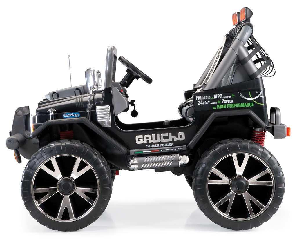 Coche electrico para niños Jeep gaucho superpower 24V