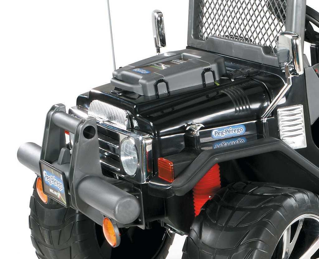 Coche electrico infantil Jeep gaucho superpower 24V capo