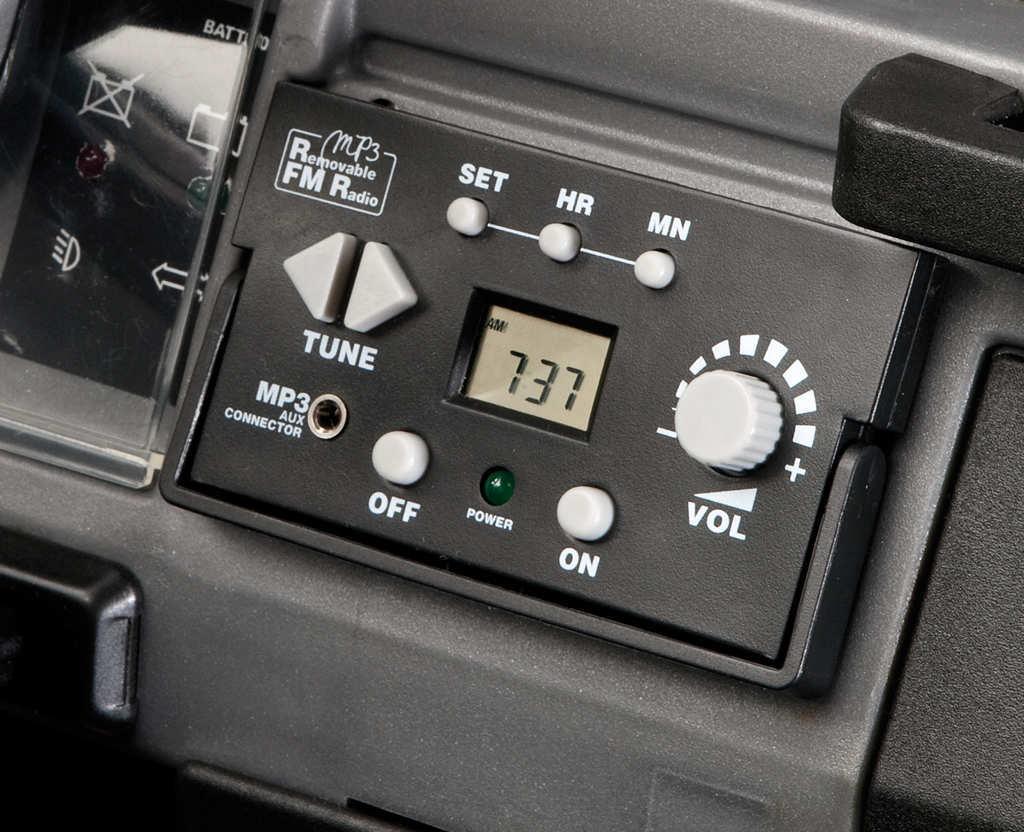 Coche electrico infantil Jeep gaucho superpower 24V dashboard