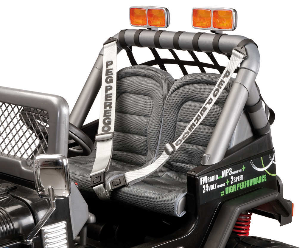 Coche electrico para niños Jeep gaucho superpower 24V asiento