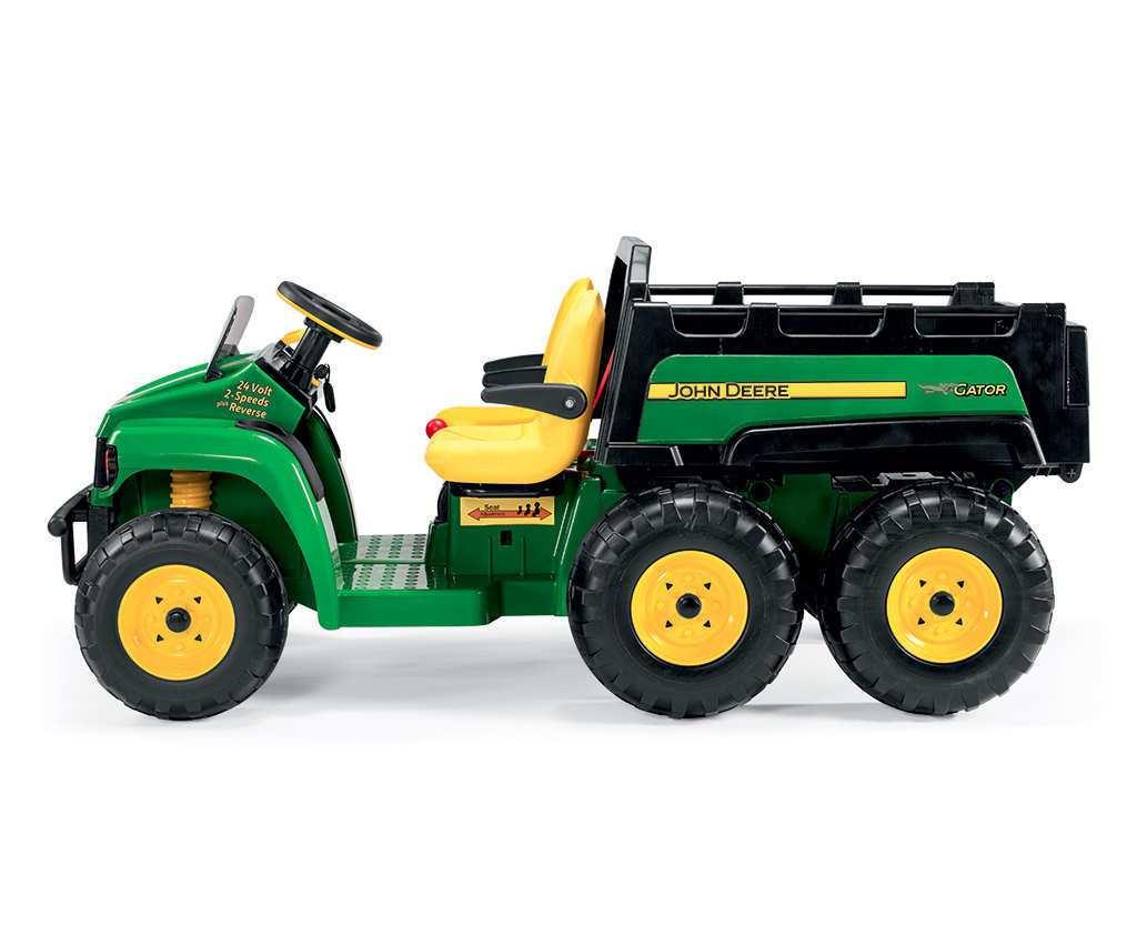 Tractor electrico infantil John Deere Gator HPX 2 plazas