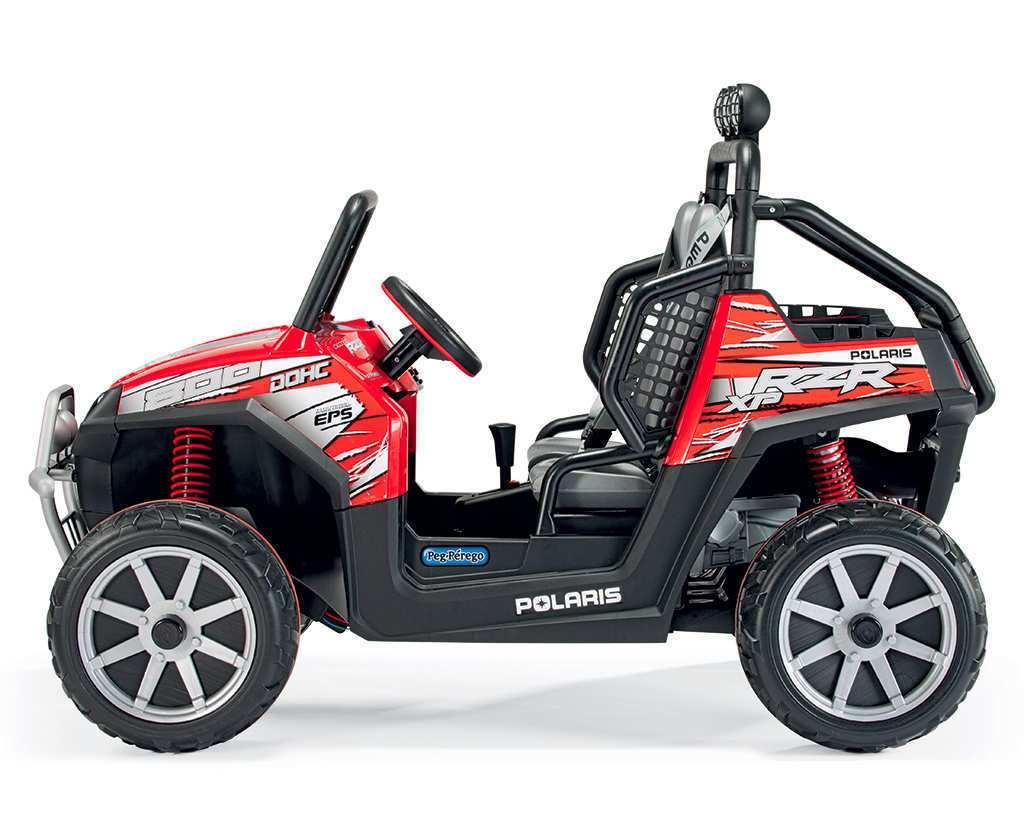 Coche electrico para niños Jeep Polaris Ranger RZR lateral