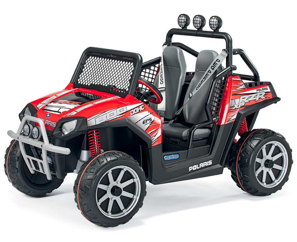 Coche electrico para niños Jeep Polaris Ranger RZR vista principal