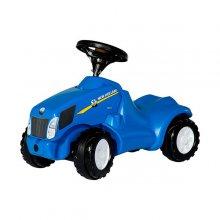 Correpasillos Mini Tractor New Holland Azul