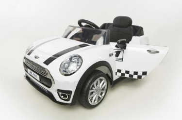 Mini luxe style 12V infantil blanco con rc y mp3 Pekecars