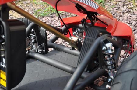 Kart Eléctrico 500W 36V Rojo Vista Pedal