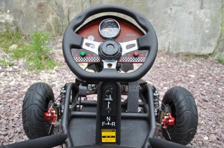 Kart Eléctrico 500W 36V Negro Volante