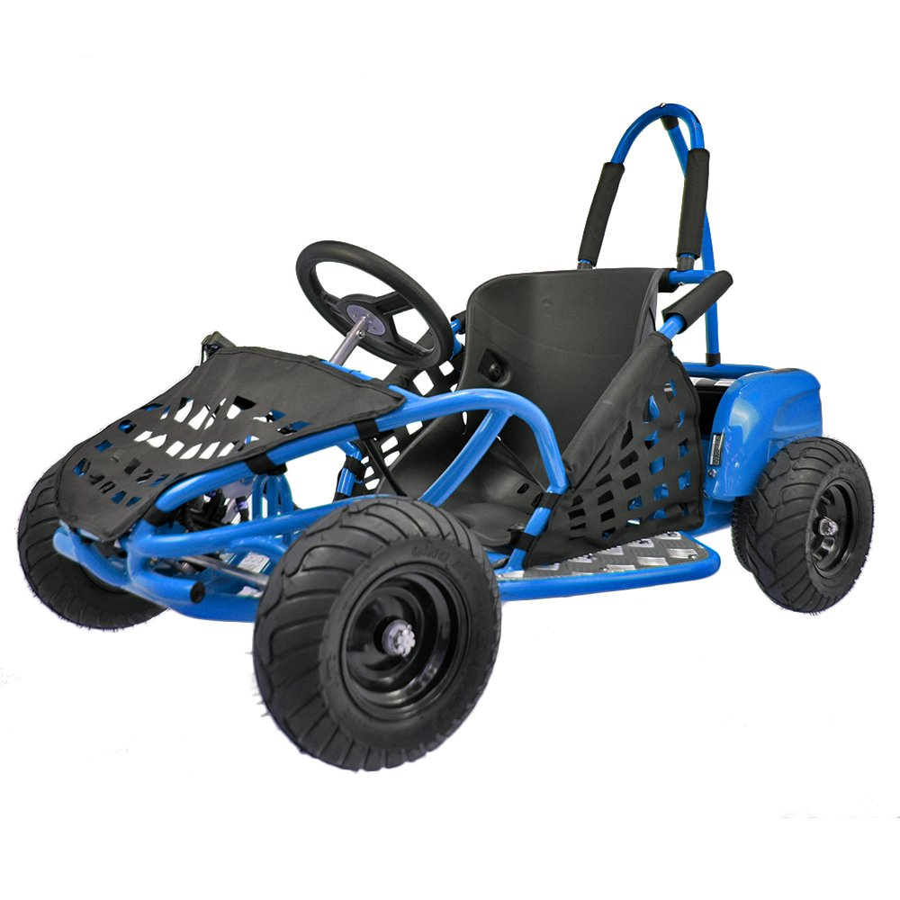 Electric Go Kart 1000W Pekecars  Blue