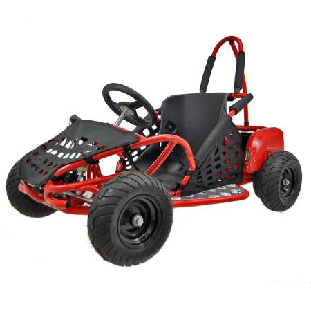 Electric Go Kart 1000W Red
