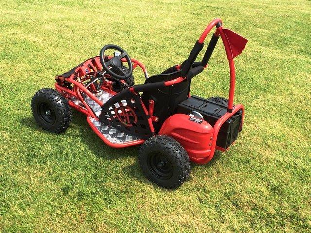 Kart Eléctrico 48V 1000W Rojo