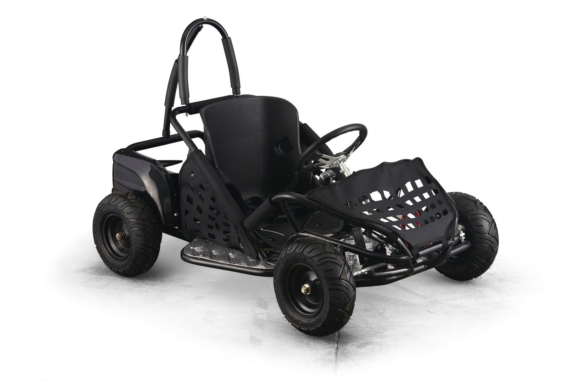 Kart Eléctrico 48V 1000W Negro vista principal