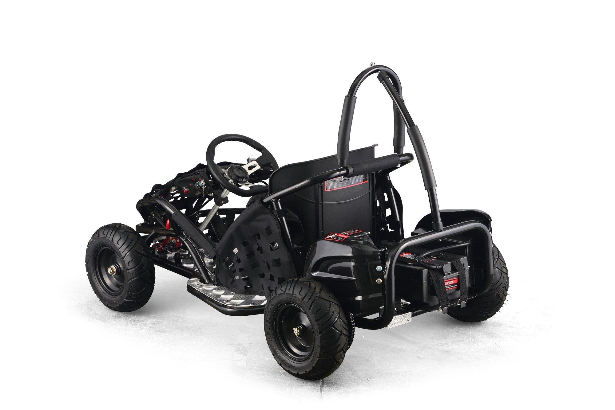 Kart Eléctrico 48V 1000W Negro