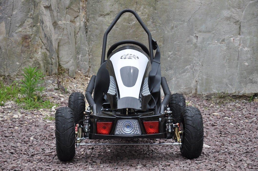 Kart Eléctrico 36V 500W Negro